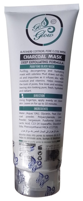 Go 4 Glow Clear Complexion Charcoal Mask Original Product