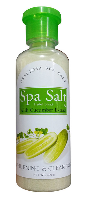 Spa Salt Herbal Extract With Cucumber Extract Whitening & Clear Skin Buy online in Pakistan