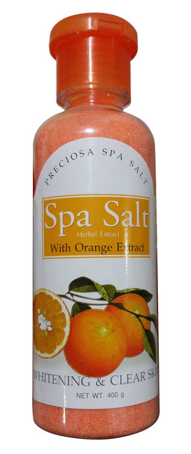 Spa Salt Herbal Extract With Orange Extract Whitening & Clear Skin Buy online in Pakistan