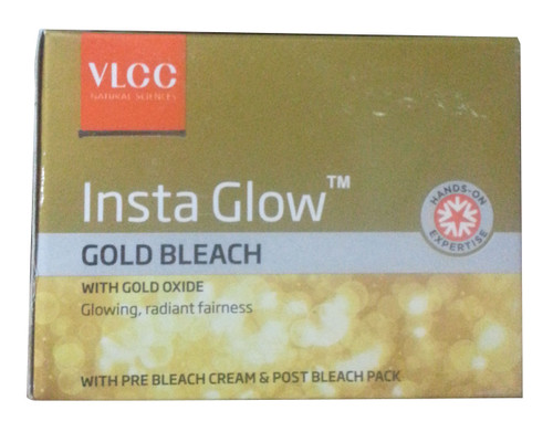 VLCC Insta Glow Gold Bleach Kit With Gold Oxide Buy Online In Pakistan