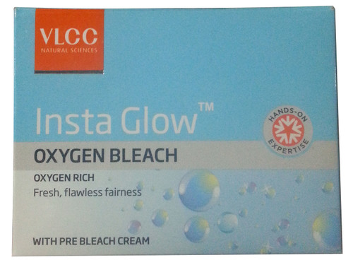 VLCC Insta Glow Oxygen Bleach Cream Kit Buy Online In Pakistan
