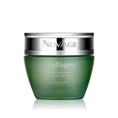 Oriflame Novage Ecollagen Wrinkle Smoothing Night Cream 50ML Buy online in Pakistan best price original product