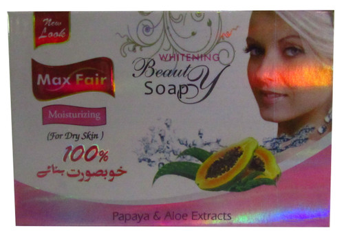 Max Fair Papaya & Aloe Extract Whitening Beauty Soap Buy online in Pakistan