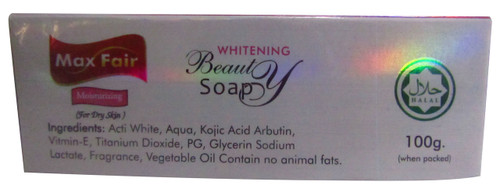 Max Fair Papaya & Aloe Extract Whitening Beauty Soap best price original product