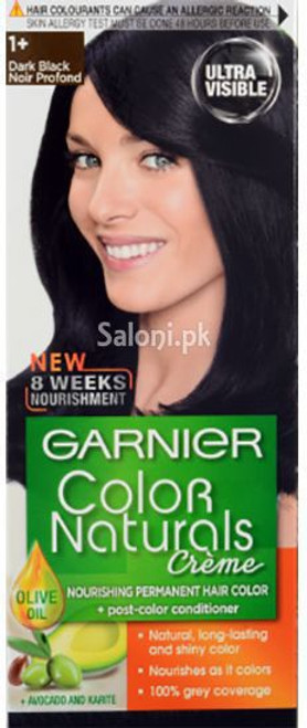 Garnier Color Naturals Creme Dark Black 1