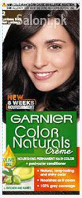 Garnier Color Naturals Creme 2 - Luminous Black