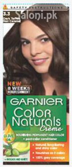 Garnier Color Naturals Creme 3.3 - Dark Toffee