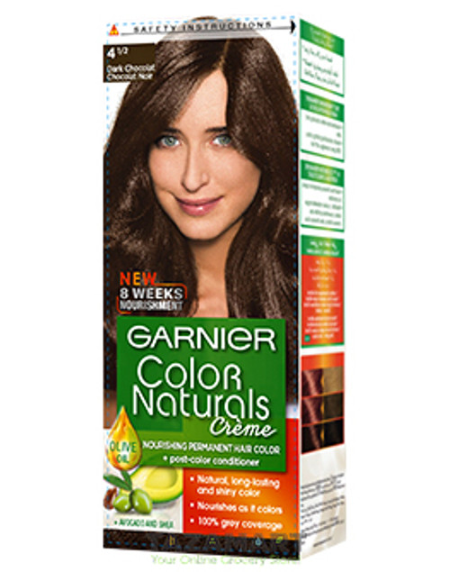 Garnier Color Naturals Creme 4.5 - Dark Chocolate Buy online in Pakistan