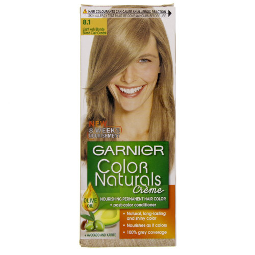 Garnier Color Naturals Creme 8.1 - Light Ash Blond