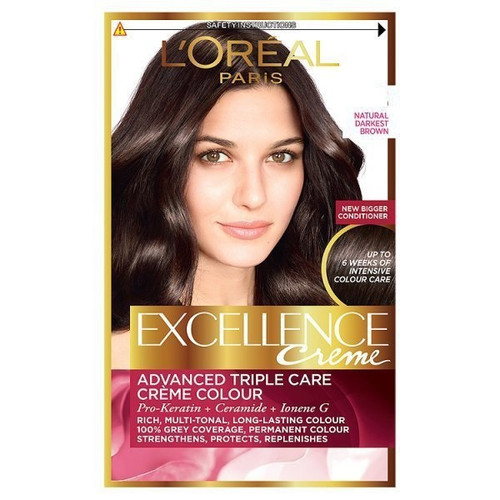 L'Oreal Excellence Creme Natural Darkest Brown
