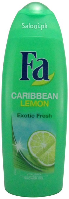 Fa Caribbean Lemon Exotic Fresh Shower Gel (Front)