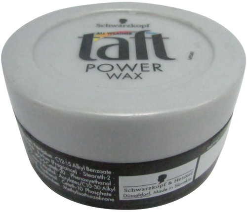 Schwarzkopf Taft Power Wax 75 Grams