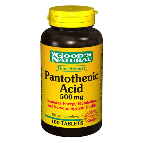 Good N Natural Pantothenic Acid