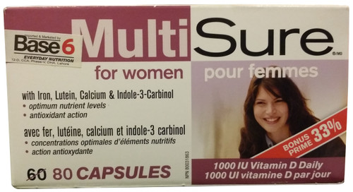 Natural Factors MultiSure Women best price