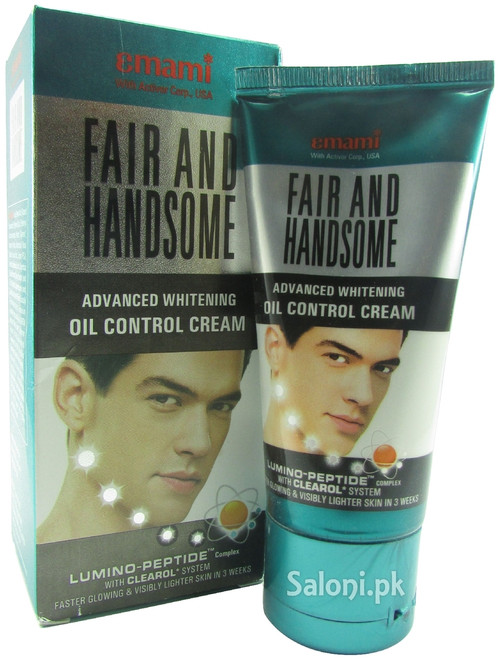 Emami Fair and Handsome Advanced Whitening Oil Control Cream shop online in Pakistan