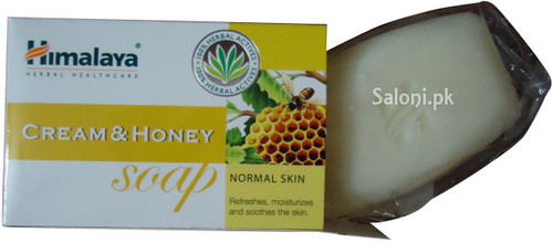 Himalaya Herbals Cream & Honey Soap For Normal Skin