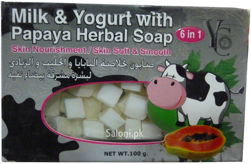 YC Milk & Yogurt With Papaya Herbal Soap
