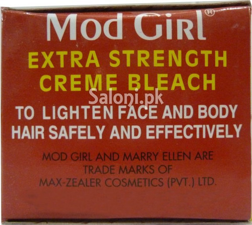 Mod Girl Creme Bleach with Aloe Vera
