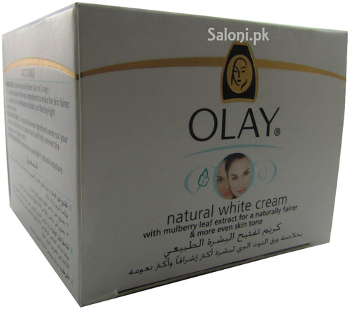Olay Natural White Cream For Naturally Fairer