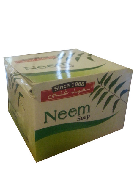 Saeed Ghani Herbal Neem Soap Handmade 90 Grams