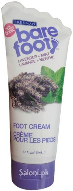 Freeman Bare Foot Lavender + Mint Foot Cream