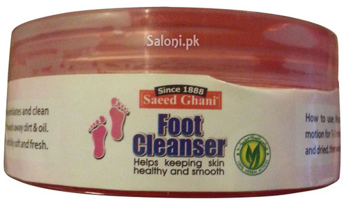 Saeed Ghani Foot Cleanser