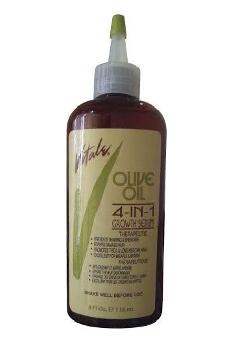 Vitale Olive Oil 4 in 1 Growth Serum (Front)