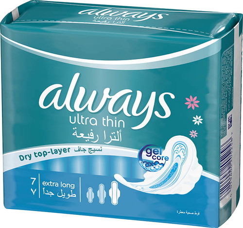 Always Pads Ultra Thin Extra Long 7 best price