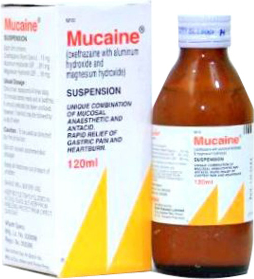 Mucaine Suspension Syrup