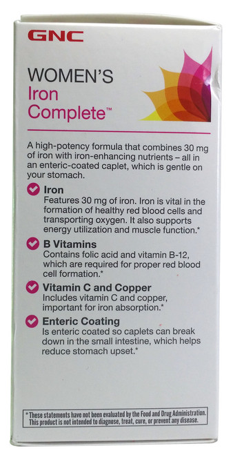 GNC Women's Iron Complete imported supplement