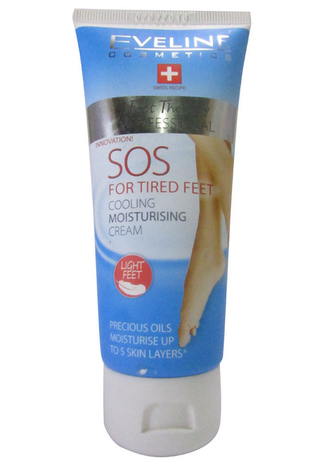 Eveline SOS For Tired Feet Cooling Moisturizing Foot Cream 100 ML