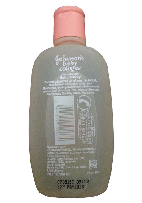 Johnson's Baby Cologne Fresh Blossoms best price original product