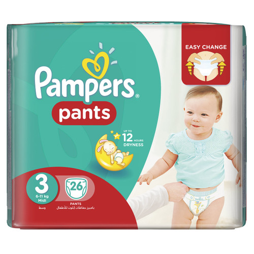 Pampers Pants Jumbo Pack Size 3 Buy online in Pakistan best price original product