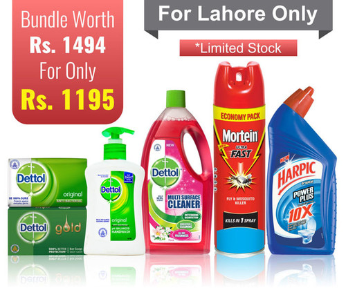 RB Household Bundle (Dettol, Harpic & Mortein) shop online in Pakistan best price original product