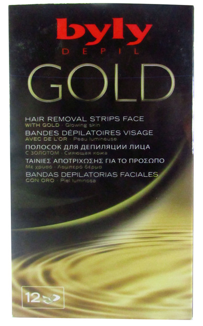 Byly Depil Gold Face Hair Removal Strips Buy online in Pakistan