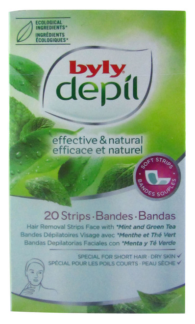 Byly Depil Mint And Green Tea Face Strips Buy online in Pakistan