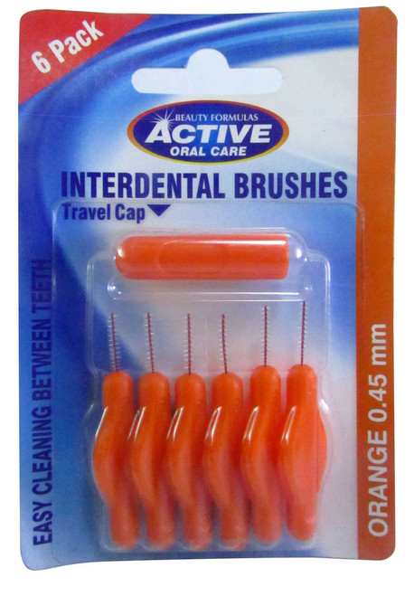 Beauty Formulas Active Oral Care Interdental Brushes 0.45 mm Buy online in Pakistan