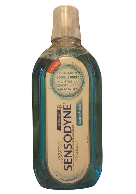 Sensodyne Fresh Mint Mouthwash Shop online in Pakistan