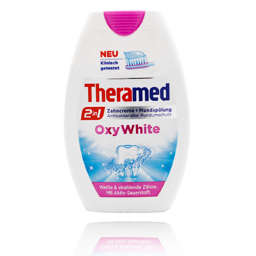 Theramed Toothpaste 2 In 1 Oxy White Buy online in Pakistan best price original product