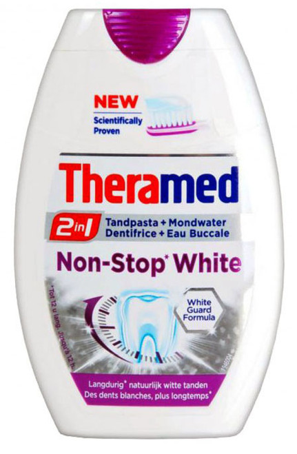Theramed 2 In 1 Non-Stop White Toothpaste Buy online in Pakistan best price original product