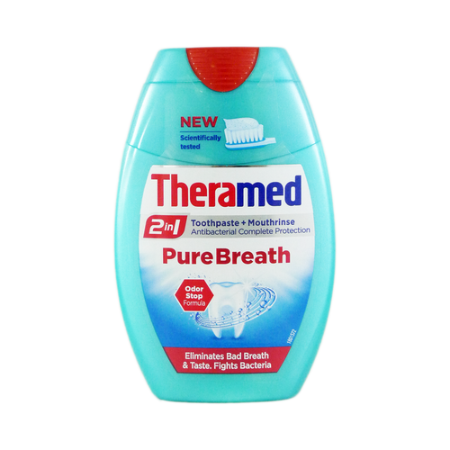 Theramed Pure Breath 2 In 1 Toothpaste Plus Mouthrinse Buy online in Pakistan best price original product
