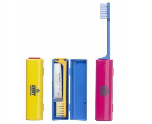 Kent Nylon Tooth brush With Tooth Paste