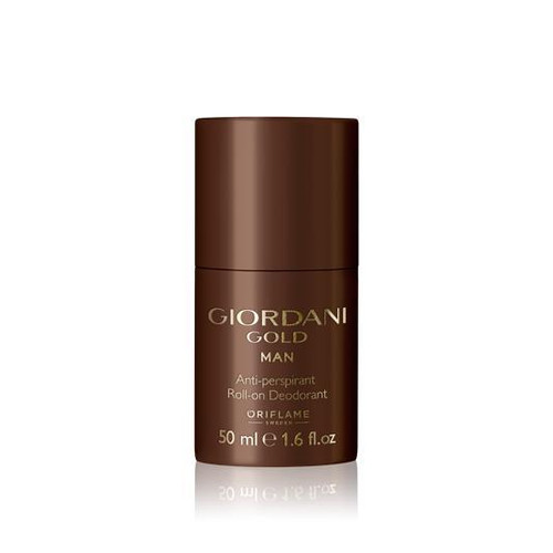 Oriflame Giordani Gold Man Antiperspirant Roll-on Deodorant Buy online in Pakistan best price original product