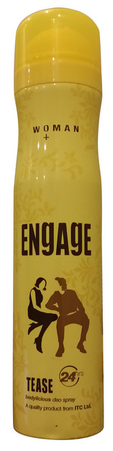 Engage Women Bodylicious Deo Spray (TEASE) 150 ML  shop online in Pakistan