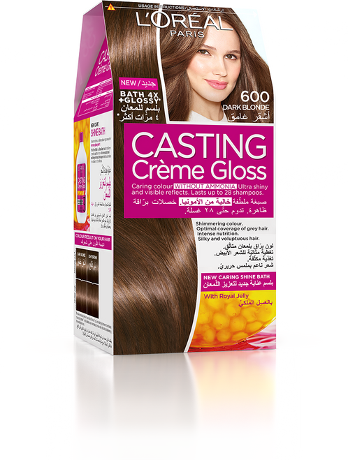 L'Oreal Casting Creme Gloss Hair Colour 600 Dark Blonde Buy Online In Pakistan