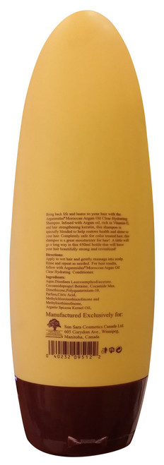 Arganmidas Moroccan Argan Oil Clear Hydrating Shampoo best price original product