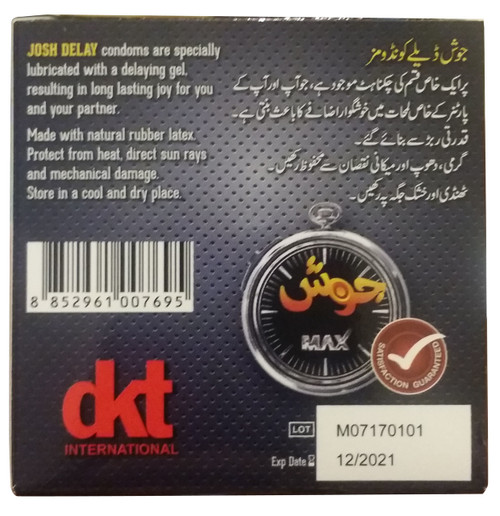 Josh Max Super Strong Delaying Condoms best price