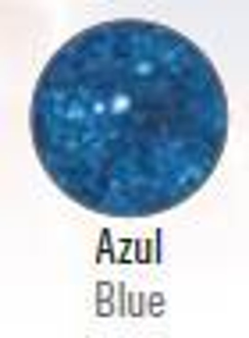 Stage Line Polyester Frost Glitter Azul (Blue)