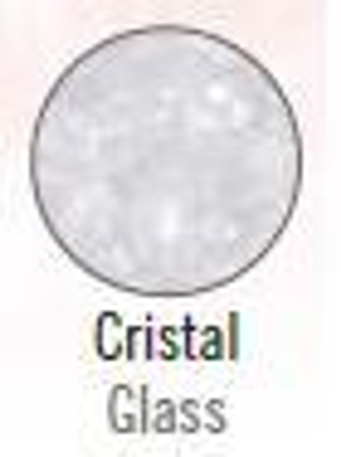Stage Line Polyester Frost Glitter Cristal (White)