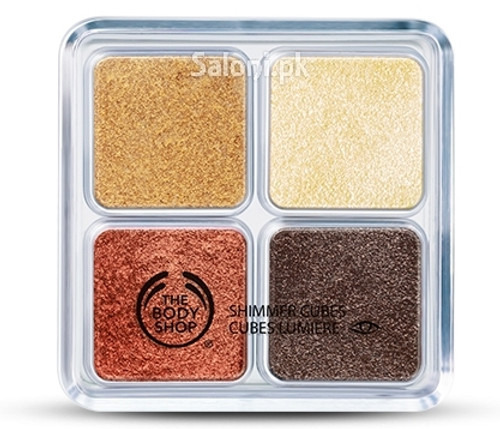 The Body Shop Shimmer Cube Palette - Bronze Buy Online In Pakistan Best Price Original Product